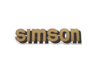 Klebefolie Simson-Tank gold