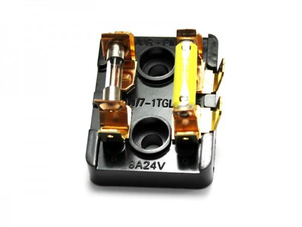 Sicherungsdose KR51/2 N, E mit Sicherungen 4 A und 3,15 A