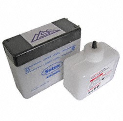 MZA Batterie Schwalbe mit Säure 6V 4,5Ah