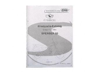 Simson Ersatzteile Katalog Sperber MS 50