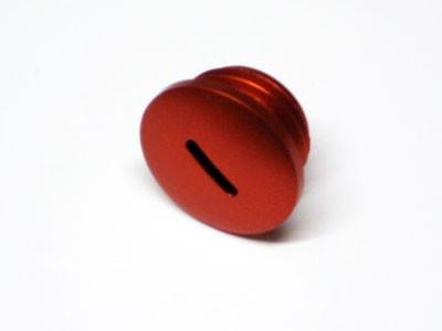 Verschlußschraube Alu orange f. Kupplungseinstellung