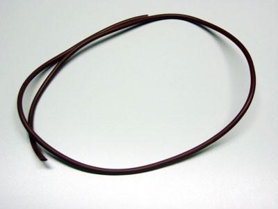 Kabelschutzschlauch braun 6,5 x 5 mm