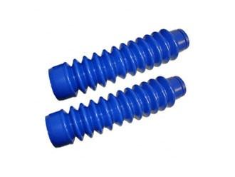 Faltenbalgsatz blau