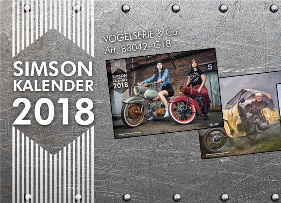 SIMSON Kalender Vogelserie 2018