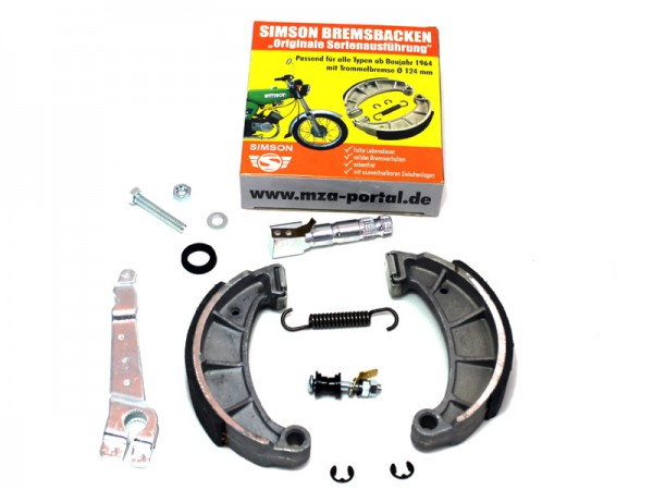 Reparatursatz Bremsen KR51/1, SR50/80 hinten