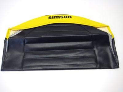 Sitzbezug SR,S53 gelb/schwarz strukturiert