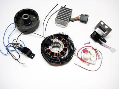 Lichtmagnetzündanlage 12V 100W passend für RT125 vollelektronisch