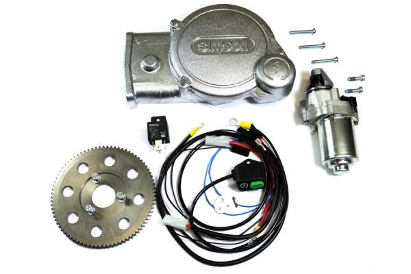 Simson Anlasser Umrüstsatz Elektrostarter mit Startschalter SR50/80 Elektronik