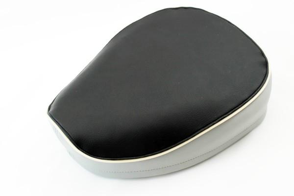 Sitzbezug mit Spannring schwarz/grau KR50