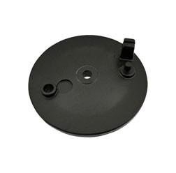 Bremsschild hinten SR50/80 schwarz