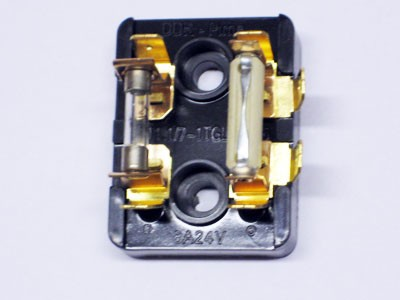 Sicherungsdose S51 mit Sicherungen 8 A und 2,5 A