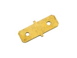 Doppel Flachanschluß, Flachsteckverbinder 6,3mm