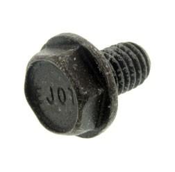 Sechskantschraube M6X10 DIN 7500 schwarz chromatiert matt
