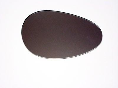 Spiegelglas links kleine runde Niere SR2