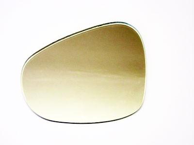 Spiegelglas Nierenform eckig rechts