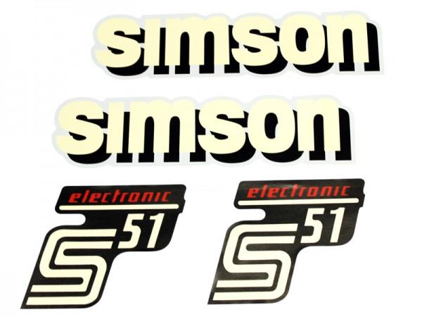 Dekorsatz S51 Elektronik Neues Design