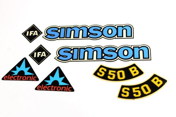 Dekorsatz S50 B Elektronik blau