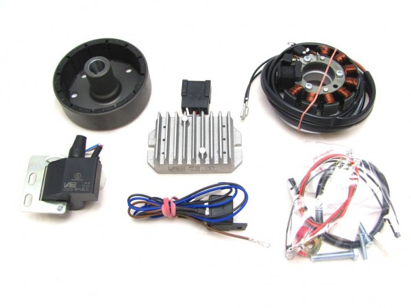 Lichtmagnetzündanlage 6V 75W passend für RT125 vollelektronisch
