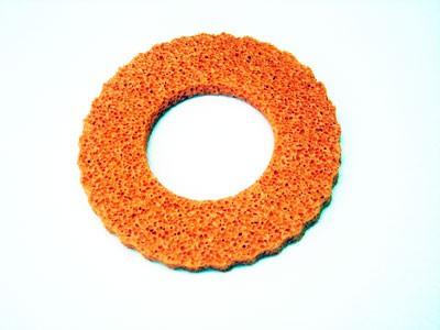 Tankschutzring Moosgummi Simson orange