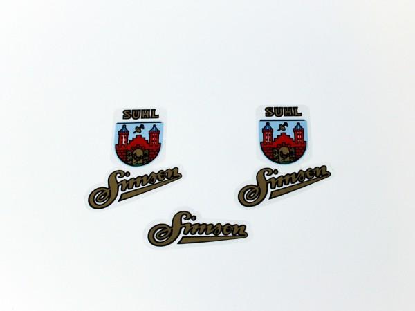 Simson Wappen SR1, SR2 im Satz