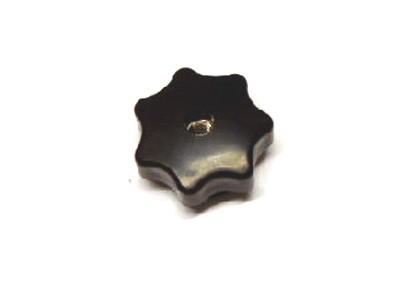 Sterngriffmutter Schwalbe schwarz Plast