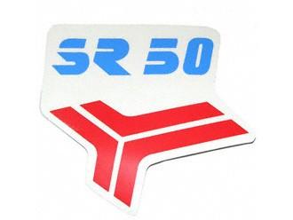 Klebefolie Knieblech SR 50 rot/blau
