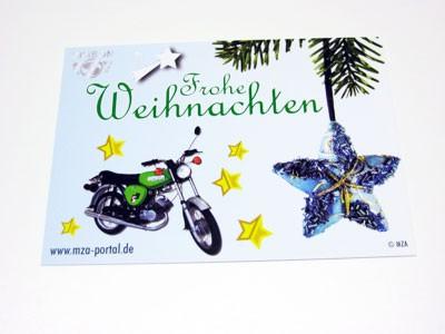 Postkarte S51 Weihnachten