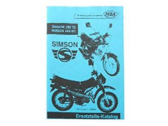 Simson Ersatzteile Katalog O50 TS/ SC Ausgabe 2002