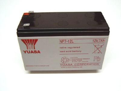 Batterie Akku wartungsfrei 12 V 7Ah
