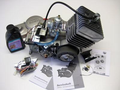 Motor S51 50ccm mit Vape - Zündung & BVF 16N1-11