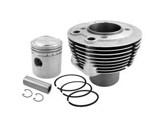 Zylinder mit Kolben passend für AWO 425 Sport 15,5 PS Variante