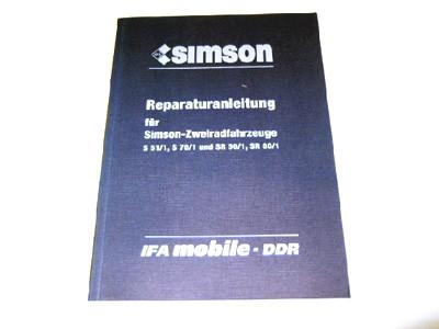 Reparaturanleitung S51, SR50