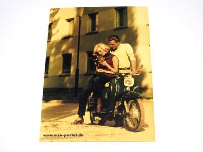 Postkarte Schwalbe Wohngebäude
