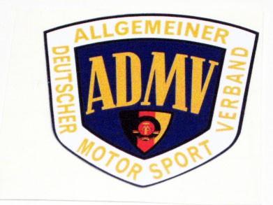 "Nostalgie Aufkleber ""ADMV"" Logo groß"