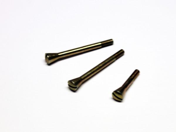 Schraubensatz Spulenkastendeckel, konisch RT125