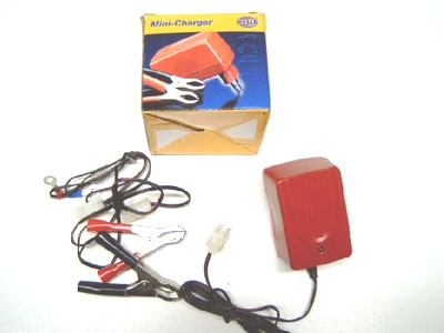 Ladegerät für Motorrad Batterie 6/12V