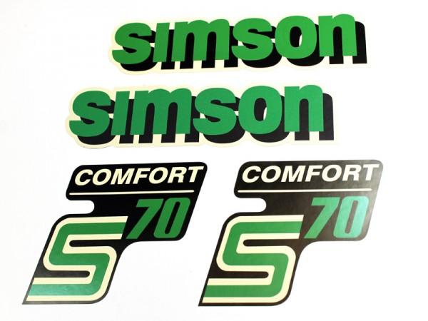 Dekorsatz S70 Comfort Grünschwarz