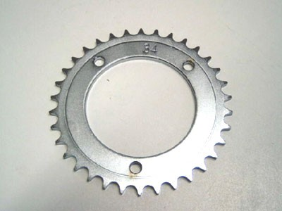 Kettenrad für Differential Z=34 mit 8mm Bohrung
