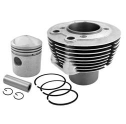 Zylinder mit Kolben passend für AWO 425 Sport 14 PS Variante