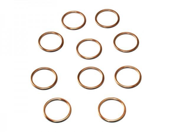 Krümmerdichtung Kupfer im Pack zu 10 Stück