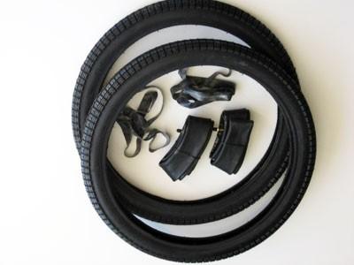 Reifensatz SR2 2,25x19 mit Schlauch und Felgenband