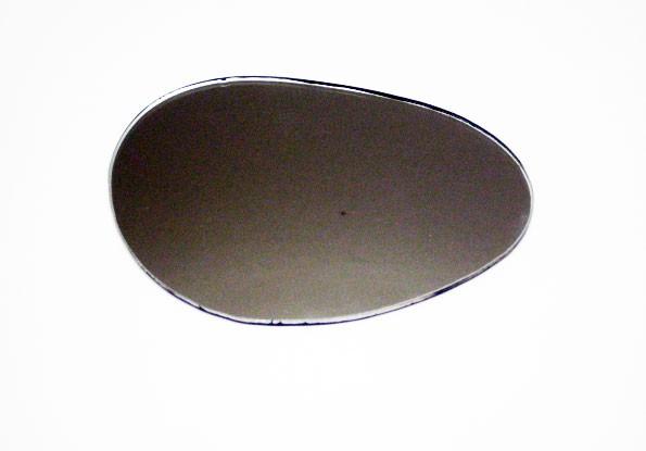 Spiegelglas links große runde Niere SR2