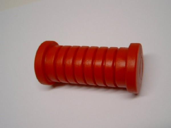 Fußrastengummi rot
