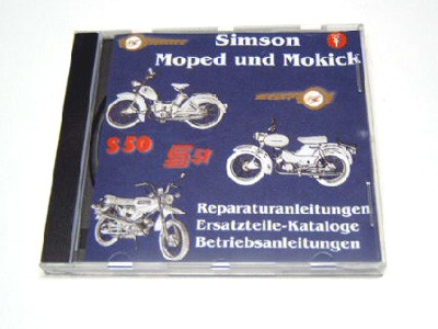CD Simson Moped und Mokick