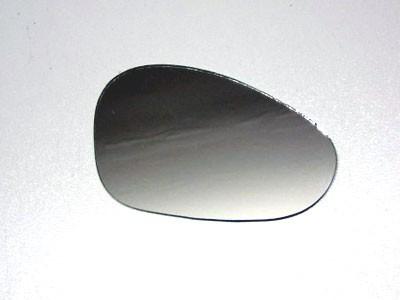 Spiegelglas Nierenform rund 115x70mm