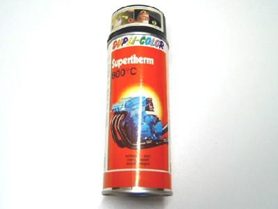 Farbspray schwarz matt bis 800°C 400 ml