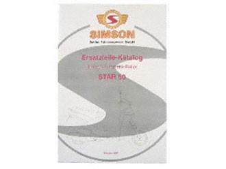 Simson Ersatzteile Katalog Star 50 Ausgabe 1997