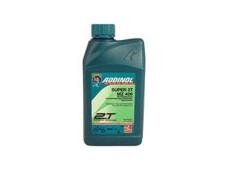ADDINOL MZ406 SUPER, 2-Takt-Motorenöl, raucharm, teilsynthetisch 1l