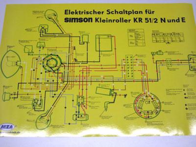 Schaltplan Farbposter KR51/2 N und E | Schaltpläne | Elektronik ...