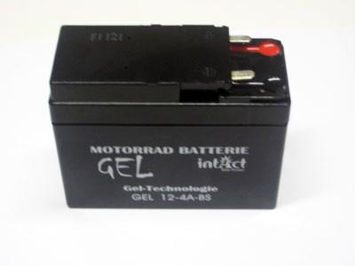 Batterie INTACT Gel Akku 12V 2,5Ah Schwalbe mit VAPE